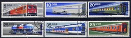 DDR  Schienenfahrzeuge  Mi.  1844/9 - Trains