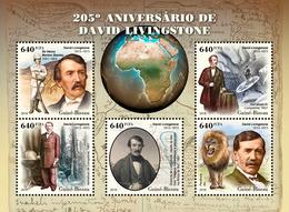 Guinea Bissau. 2018 205th Anniversary Of David Livingstone. (507a) - Esploratori