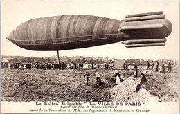 """Le Ballon Dirigeable """"La Ville De Paris""""construit Par Henry Deutsch -  Ingénieur H. Kapferer Et Surcouf - Dirigeables"""
