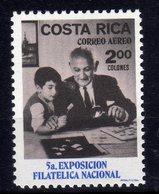 Costa Rica 5^ Exposicion Filatelica Nacional 1 Val MNH - Costa Rica
