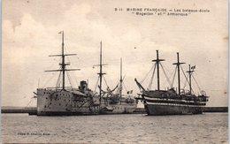 """Bâteau - Marine Française - Les Bateaux école """"Magellan"""" Et """" Armorique"""" - Guerre"""