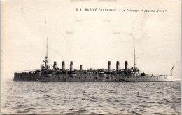 """Bâteau - Marine Française - Le Cuirassé """"jeanne D'arc """" - Guerre"""