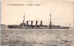 """Bâteau - Marine Française - Le Croiseur """" Mulhouse """" - Guerre"""