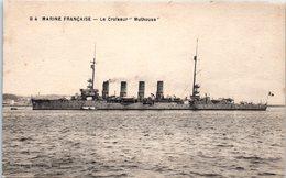 "Bâteau - Marine Française - Le Croiseur "" Mulhouse "" - Guerra"