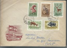 Belle Lettre De HONGRIE Du 30/12/53   Pour PARIS - Marcophilie (Lettres)