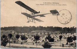 Avion - L'aviation Militaire - Biplan Bréguet évoluant Au-dessus Du Camp De Mailly (pli Coin Droit) - 1914-1918: 1ère Guerre