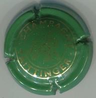 CAPSULE-CHAMPAGNE TAITTINGER N°87 Vert & Or - Taittinger