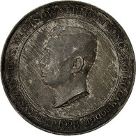 Cambodge, Médaille, Couronnement S.M. Monivong, 1928, SUP, Argent, Lecompte:142 - Other