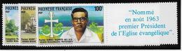Polynésie N°318/320 - Neuf ** Sans Charnière - Superbe - Unused Stamps