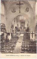 Saint-Chéron Intérieur De L' Eglise - Saint Cheron