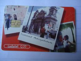 GUATEMALA USED CARDS MONUMENTS LANDSCAPES - Guatemala