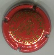 CAPSULE-CHAMPAGNE TAITTINGER N°92a Rouge Vif & Or - Taittinger