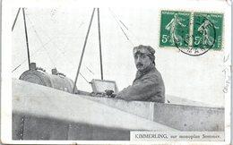 Aviateur - KIMMERLING, Sur Monoplan Sommer (coupure) - Aviateurs