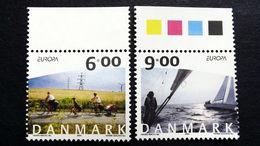 Dänemark 1379/0 **/mnh, EUROPA/CEPT 2004, Ferien - Ungebraucht