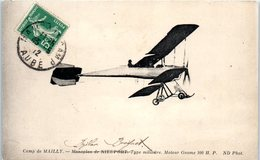 AVION - Camp De MAILLY - Biplan Bréguet - Type Militaire - ....-1914: Précurseurs