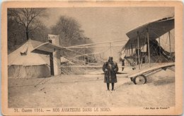 AVION - Guerre 1914 - Nos Aviateurs Dans Le Nord (Militaire) - 1914-1918: 1ère Guerre