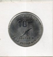 Algerie Française. 10 Centimes. Sidi Bel Abès. Horlogerie Plantier Boisonnet. 1914-1918 - Monetary /of Necessity