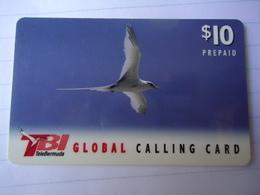 BERMUDA USED CARDS BIRD BIRDS - Guatemala