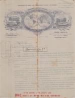 75 20 371 PARIS SEINE 1905 Machines A Ecrire HAMMOND Agent PIERO CASTELLI Rue Le Peletier Marque TYPEWRITER - France