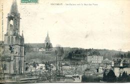 N°62836 -cpa Baccarat -les Ruines Vers La Rue Des Ponts- - Baccarat