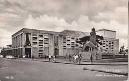 Ethiopia Addis Ababa - Haile Selassie Theatre 1962 - Etiopía
