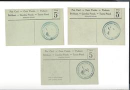 WW1    Troupes Françaises Macédoine Le Général ( Cachet 3 Cartes ) - Poststempel (Briefe)