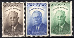 Uruguay 1953 5th Congress UPAE UPAEP Roosevelt MNH - Uruguay