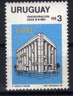 Uruguay 1983 Inauguration Building UPAE UPAEP MNH - Uruguay