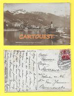 CPA  MONTREUX - Rochers De Naye Vus Du Lac 1914 - VD Vaud