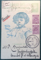 Bulgaria REGISTERED Postal Stationery Card PHILIPPOPLE 1896 > Constantinople (cover Lettre Bulgarie Enfant Children - Covers & Documents