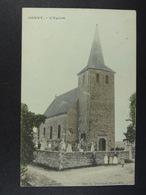 Gouvy L'Eglise (colorisée) - Gouvy