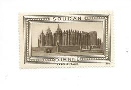Afrique Soudan AOF DJENNÉ Vignette Belle France TB ** Colonies Françaises - Soudan (1954-...)