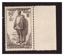 Timbre N° 420 Neuf *** Bord De Feuille - Unused Stamps