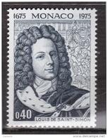 Monaco - 1975 - Saint Simon  - N° 1010- Neufs ** - MNH - Neufs