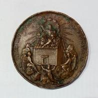 LORETO - MEDAGLIA A Ricordo Del 600° Anniversario Di Traslazione Della Santa Casa A Loreto (1894) - Bronzo / 48mm - Other