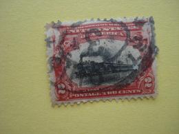 USA Train Express 2 Cents  1901 - Etats-Unis