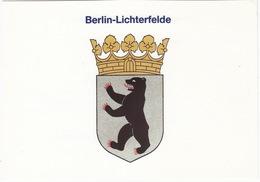 Wappen 'Berlin-Lichterfelde'  - (Antwortkarte/Drucksache 'uWb', Bad Homburg) - Lichterfelde