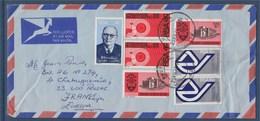 = Enveloppe Pretoria (Afrique Du Sud) à Pessac (France) 7 Timbres 25.VII.74 - Afrique Du Sud (1961-...)