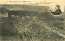 78. BUC .  Aérodrome Blériot Pendant Les Expériences De Pégoud 12 Octobre 1913 Monoplan Piloté Par PERREYON . - Buc