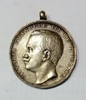 Medaglia Commemorativa Del TERREMOTO CALABRO-SICULO (1908) Opus: Giorgi  - Argento / 31mm - Other