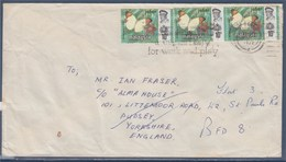 = Enveloppe De Malaisie à Angleterre 1972, 3 Timbres - Malaysia (1964-...)