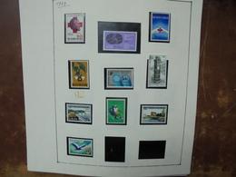 BELGIQUE NEUVE 1977-1995 SUR FEUILLES (1 KILO 200) - Collections