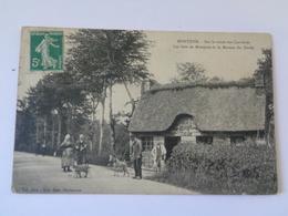 MONTJOIE : Sur La Route Des Carrières ,les Bois De MONTJOIE Et La Maison Du Garde - Beaumont