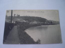 Visé // Bords De La Meuse - Met Stoomtrein - Avec Train Vapeur // Used 1911 Ed. Hermans - Wezet