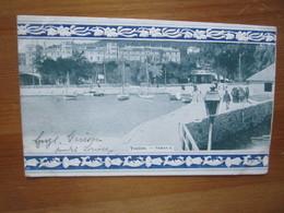 Toulon. Tamaris. Staerck / Grand Bazar De La Mosaique Postmarked 1908 - Toulon