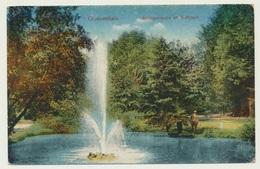 AK  Grossenhain Springbrunnen Im Stadtpark - Grossenhain
