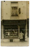"""Devanture D'un Magasin """"Butstraen-Mievis-Confiserie Fondée En 1903. - Photos"""