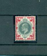 Großbritannien, König, Mi.-Nr. 114 Falz * - 1902-1951 (Könige)