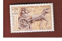 FRANCIA  (FRANCE)      -  SG  1607  -  1963 STAMP DAY    - MINT ** - Ungebraucht