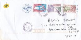 BUSTA VIAGGIATA  - FRANCIA - DESTINAZIONE  BRIGNANO CERA D' ADDA ( ITALIA ) 2011 - France